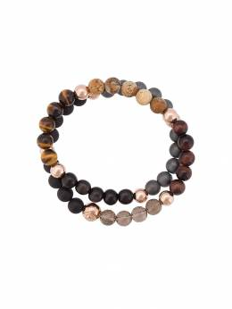 Nialaya Jewelry beaded wrap around bracelet MCHCO023