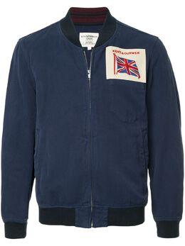 Kent & Curwen куртка-бомбер с заплаткой с логотипом K3750TM140