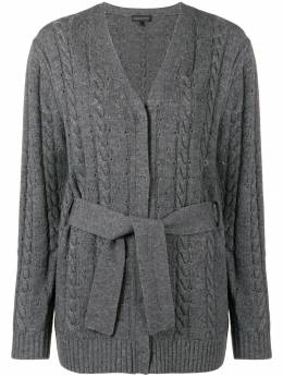 Cashmere In Love cashmere blend cable knit cardigan LONDON
