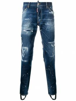 Dsquared2 distressed skinny jeans S71LB0483S30342