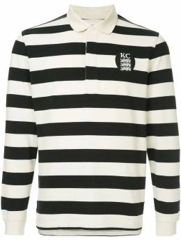 Kent & Curwen long-sleeved logo polo shirt K38I7TM210