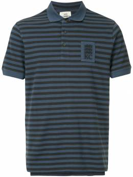 Kent & Curwen striped shortsleeved polo shirt K38H9TM040