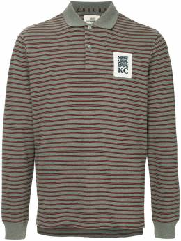 Kent & Curwen striped longsleeved polo shirt K38H8TR040