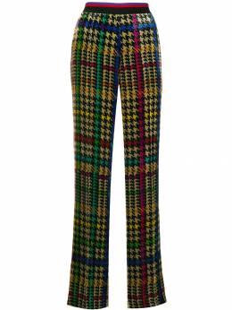 Etro расклешенные брюки с принтом 132205197