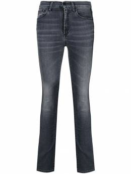 Marcelo Burlon County Of Milan high rise skinny jeans CWYA007F18819208