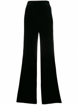 Etro velvet wide-leg trousers 132170242