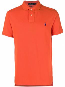 Polo Ralph Lauren logo short-sleeve polo top 710536856122