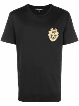 Roberto Cavalli logo patch T-shirt HNR600JD060