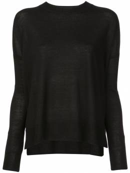 10 Crosby Derek Lam Boxy crew neck Sweater TC00951SV