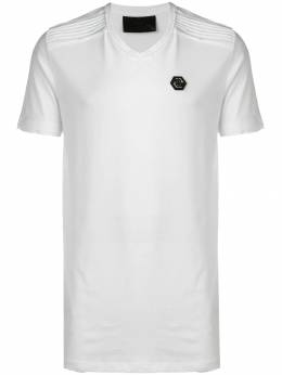 Philipp Plein футболка с V-образным вырезом S19CMTK3027PJY002N