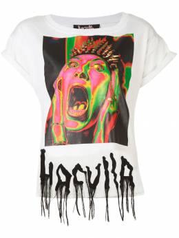 Haculla Argh print T-shirt HAW08AHT03B