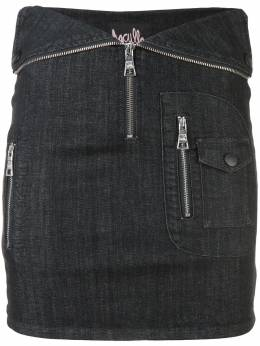 Haculla Nobody's safe fitted skirt HAW08AHB03
