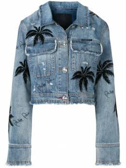 Philipp Plein джинсовая куртка S19CWDB0241PDE004N