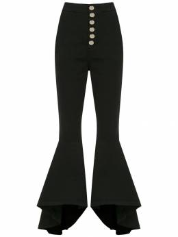 Olympiah Lima flared trousers 218314