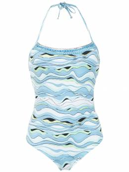 Amir Slama printed swimsuit 10656