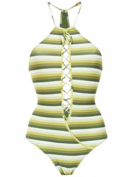 Amir Slama striped swimsuit 10717