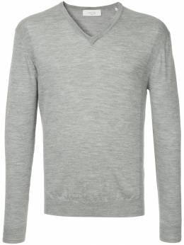 Cerruti 1881 long-sleeve fitted sweater C3867EI02091