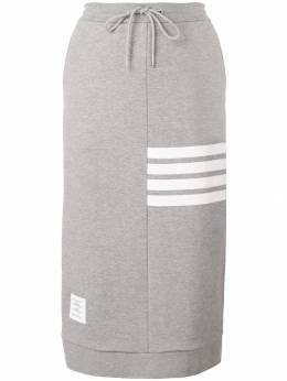 Thom Browne юбка на завязке с 4 полосками FKJ008A00535