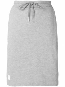 Thom Browne юбка пике с полосками FJK006A00050