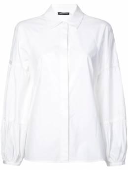 Josie Natori рубашка с объемными рукавами G15204