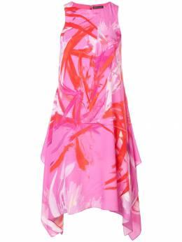 Josie Natori платье 'Prism' с принтом G13010