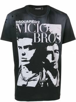 Dsquared2 футболка 'Vicious Bros' S74GD0517S21600