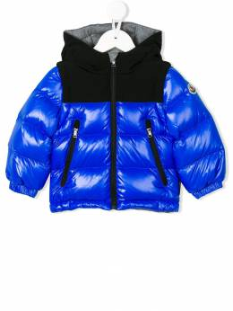 Moncler Kids hooded padded jacket 418758568950