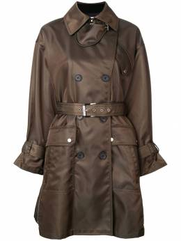 Barbara Bui double breasted belted coat S1101SPB