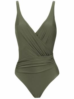 Lygia & Nanny Maísa wrap style swimsuit 01010637