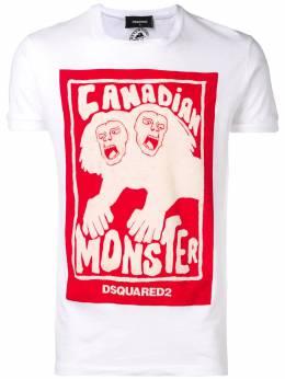 Dsquared2 футболка с принтом 'Canadian Monster' S71GD0751S22507