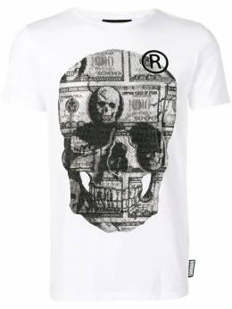 Philipp Plein футболка с принтом S19CMTK3041PJY002N