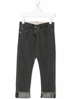 Stella McCartney Kids прямые джинсы 539359SMK93