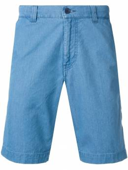 Aspesi шорты из ткани шамбре CQ246191