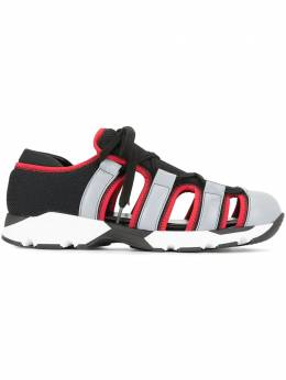 Marni кроссовки с прорезями SNZW001103LV801