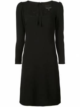 Cynthia Rowley платье с завязкой на горловине 18F1DR13CR