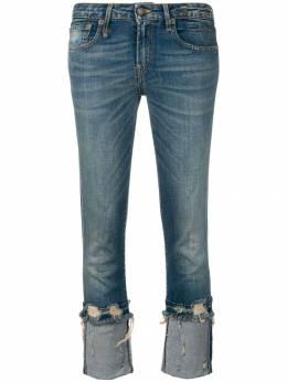 R13 укороченные джинсы с низкой посадкой R13W4034717