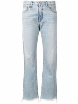 R13 джинсы с необработанными краями W0180727