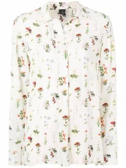 Fay рубашка с цветочным принтом NCWA1385990QTX