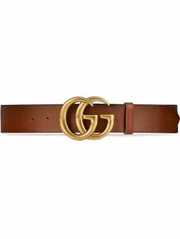 Gucci Leather belt with Double G buckle 406831CVE0T