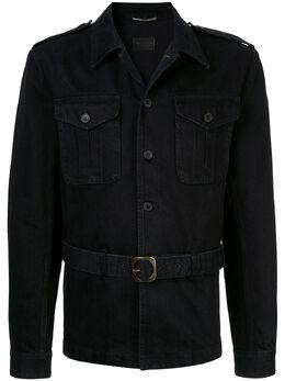 Saint Laurent джинсовая куртка 'Saharienne' 552548YH899