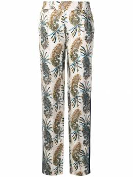 Etro брюки с принтом пейсли 147574361
