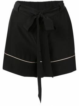 Kiki De Montparnasse пижамные шорты с поясом BO226