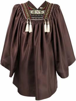 Etro блузка с вышивкой 163059851