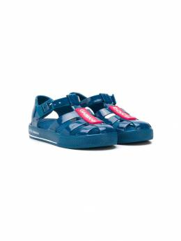 Dolce & Gabbana Kids сандалии с логотипом DN0115AK498
