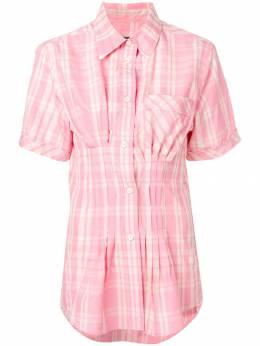 Isabel Marant клетчатая блузка CH036019P023I