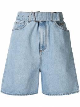 MSGM джинсовая куртка с вышивкой 2641MDB41L195290