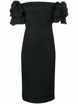 Alexa Chung платье с объемными рукавами 1804DR02OT916900