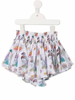 Velveteen юбка-шорты 'Eloise' с принтом S19G03003