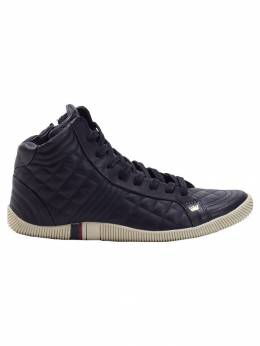 Osklen quilted hi-top sneakers 37149