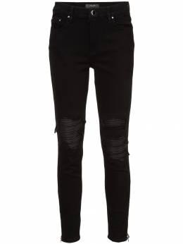 Amiri джинсы скинни с прорезями на коленях WBMX1LTH